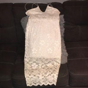 b614dcfd74c0 Boohoo Ira Embroidered Lace High Neck Midi Dress   Poshmark